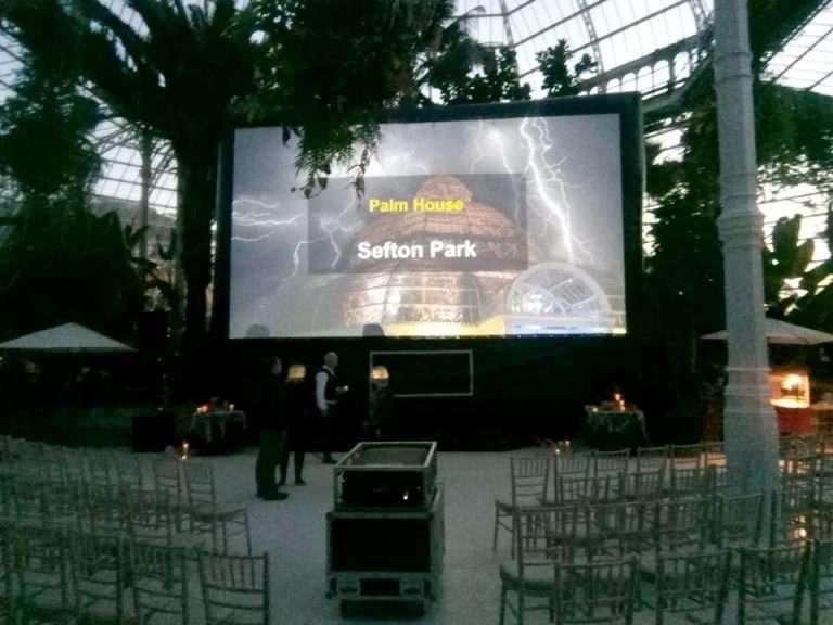 Winter Garden Cinema Hire