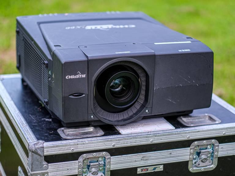 Christie Projector 1-smaller