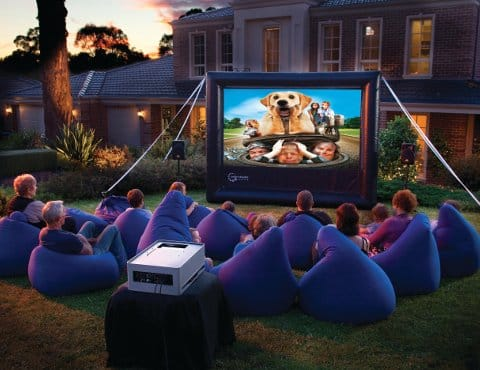 projector hire, cinema hire, screen hire