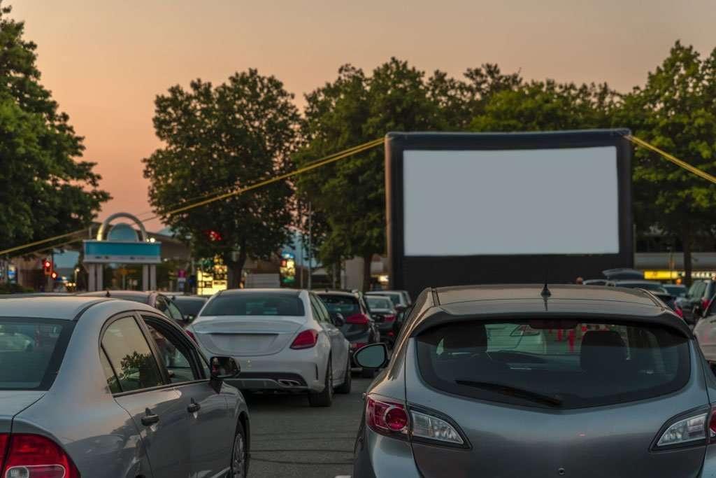 Classic Drive-In Cinema, cinema hire, screen hire, pop up cinema hire, outdoor cinema hire, indoor cinema hire, projector hire